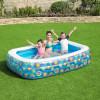 Бассейн надувной семейный bestway happy flora  229*152*56см, 702л, 54120