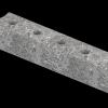 Верхний левый талькохлоритный элемент sawo hp34-002 для печи nimbus combi (400х70х60мм)