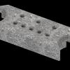 Верхний талькохлоритный элемент sawo hp34-001 для печи nimbus combi (365х130х60мм)