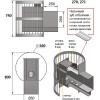 Банная печь везувий скиф стандарт 22 (дт-4с) 2016