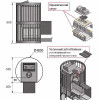 Банная печь везувий ураган стандарт 22 (дт-4)