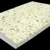 Бордюрный камень «Каспийская галька» Белый