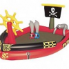 Бассейн игровой Пираты 190х140х96 см, 212 л, с брызгалкой и принадлежностями для игр, 53041