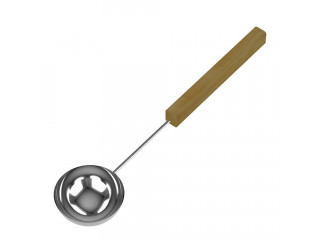 Черпак SAWO 445-MD (из нержавейки с деревянной ручкой)