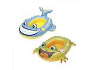 Надувная лодочка (Рыбка, Лягушка) 34085