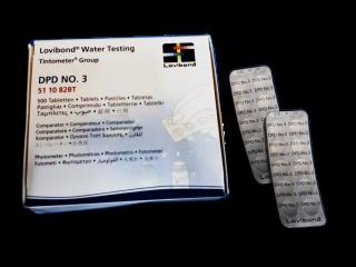 Тестерные таблетки для фотометра Lovibond DPD3 (500 таблеток)