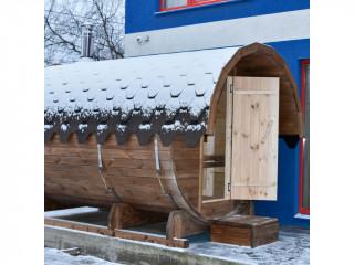 Баня-бочка Круглая (3 м)
