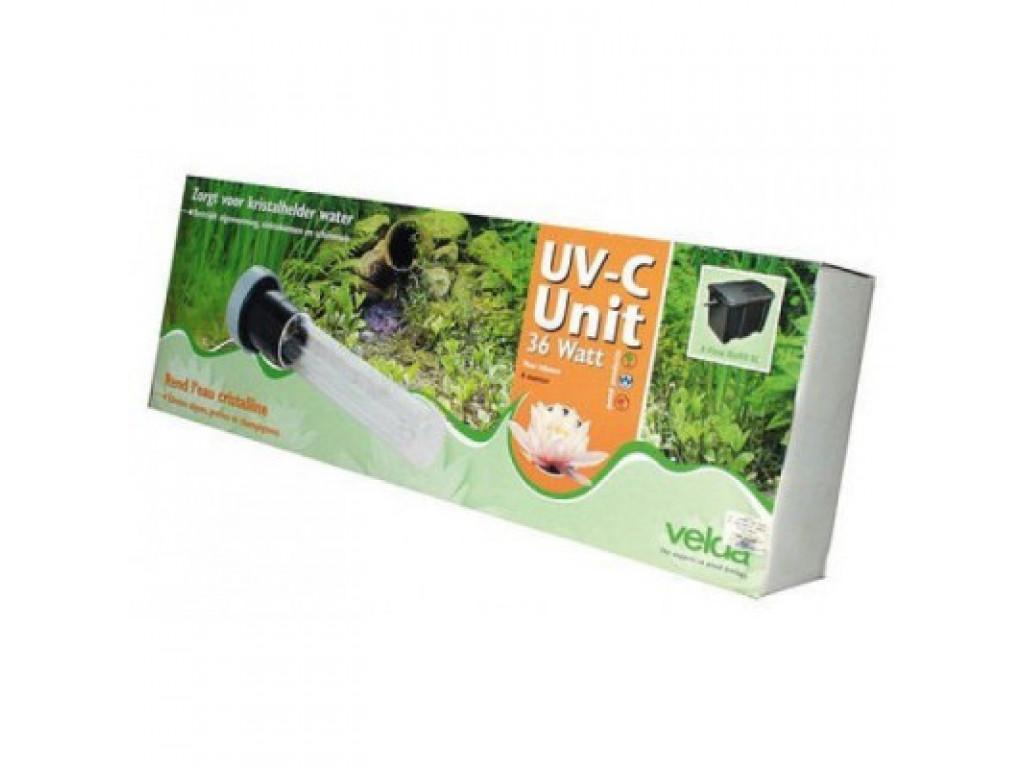 Uv-c unit 18w clear control 50 l, cross-flow biofill, giant biofill xl