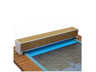 Сматывающее устройство надводное со  скамьёй