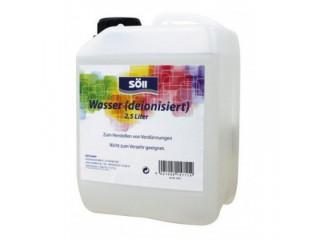 Deionisiertes wasser, 2,5 l