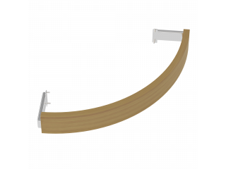 Деревянное ограждение SAWO TH-GUARD-W6-CNR-D для печи угловой установки TOWER TH6 (кедр)