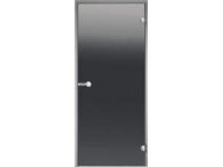 Дверь Harvia с алюминиевой коробкой 8х21 (стекло серое, артикул DA82102)