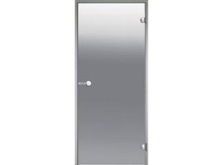 Дверь Harvia с алюминиевой коробкой 9х19 (стекло серое, артикул DA91902)