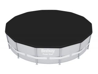 Тент (ПВХ) для стальных бассейнов 360x120 см (d 430 см), 58292