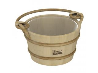 Ведро деревянное SAWO 341-P (4 литра, с пластиковой вставкой)