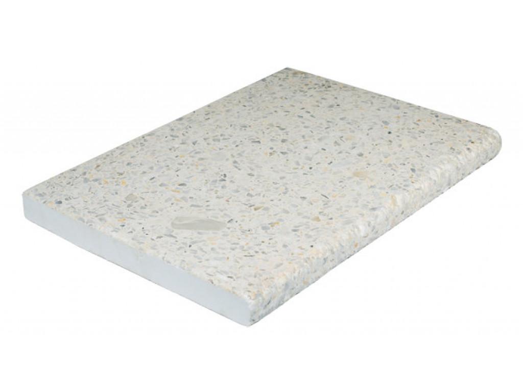 Бордюрный камень «Тераццо» Имбирь