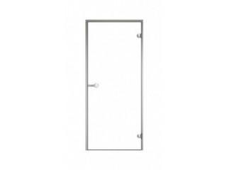 Дверь Harvia с алюминиевой коробкой 8х21 (стекло прозрачное, артикул DA82104)
