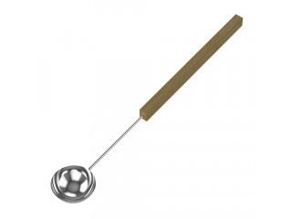Черпак SAWO 446-MD (из нержавейки с деревянной ручкой)