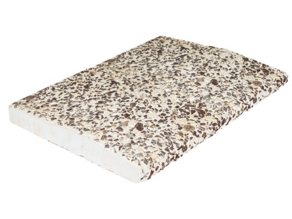 Бордюрный камень «Marbel crumb» Каштан