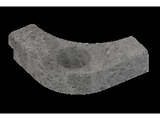 Боковой талькохлоритный элемент SAWO HP29-004 для печи CUMULUS (левый, 120х120х30мм)