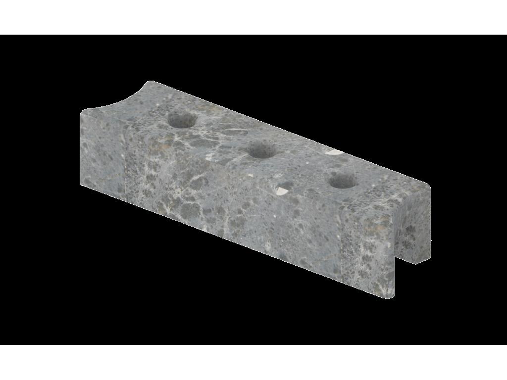 Верхний талькохлоритный элемент sawo hp23-002 для печи nimbus (300х70х60мм)