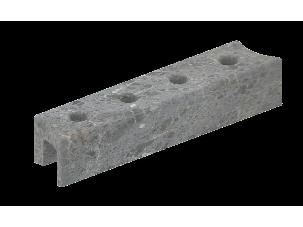 Верхний талькохлоритный элемент sawo hp23-003 для печи nimbus (340х70х60мм)