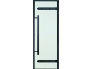 Дверь Harvia с алюминиевой коробкой Legend 8х19 (стекло прозрачное, артикул DA81904L)