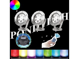 Подводные светильники Pondtech 995Led3 (RGB) комплект