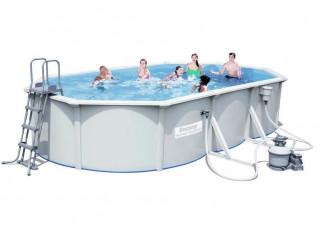 Бассейн сборный овальный 610х360*120 см.,BESTWAY Hydrium Titan Pool, метал.каркас,56369