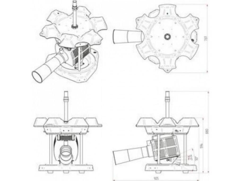 Аэратор для пруда и водоема Airflow 25 F