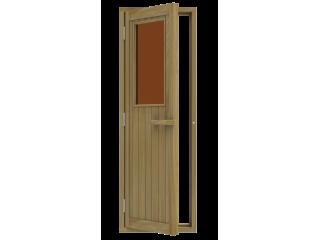 Дверь SAWO 735-4SGD-L 700 x 2040 (бронза, левая, кедр)