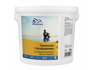 Кемохлор-Т-таблетки 200г,  5кг