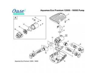 Насос для водопадов и фильтрации AquaMax Eco Premium 20000