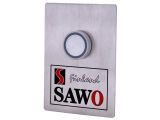SAWO Кнопка вызова с подсветкой и 10-метровым соединительным проводом, STP-BTN для саун и бань