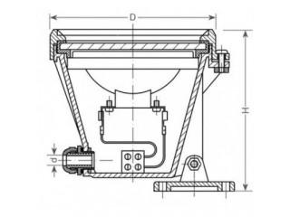 Подводный светильник для пруда и сада UWL LED 1220-Tec