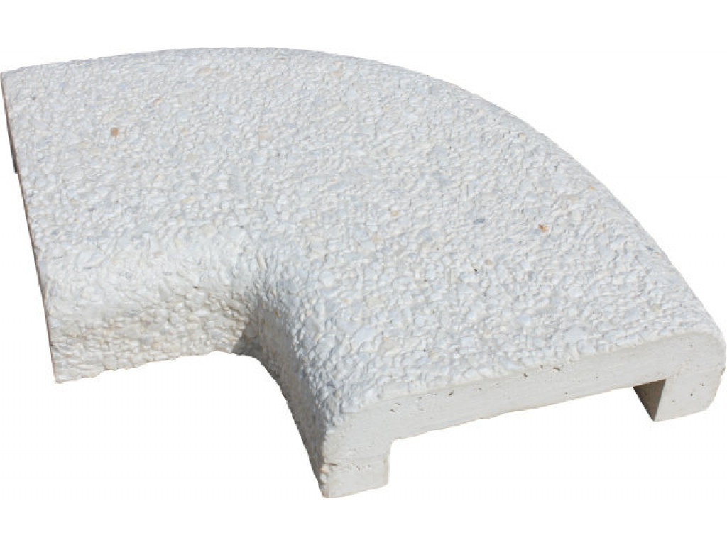 Бордюрный камень «Marbel crumb» «П» профиль