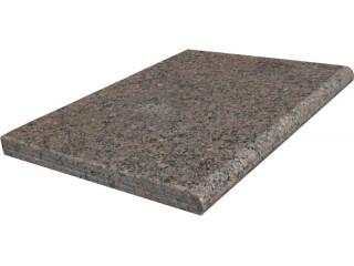 Натуральный бордюрный камень GRANITE DESERT BROWN ГРАНИТ (ИНДИЯ)