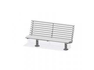 Трехместная скамейка