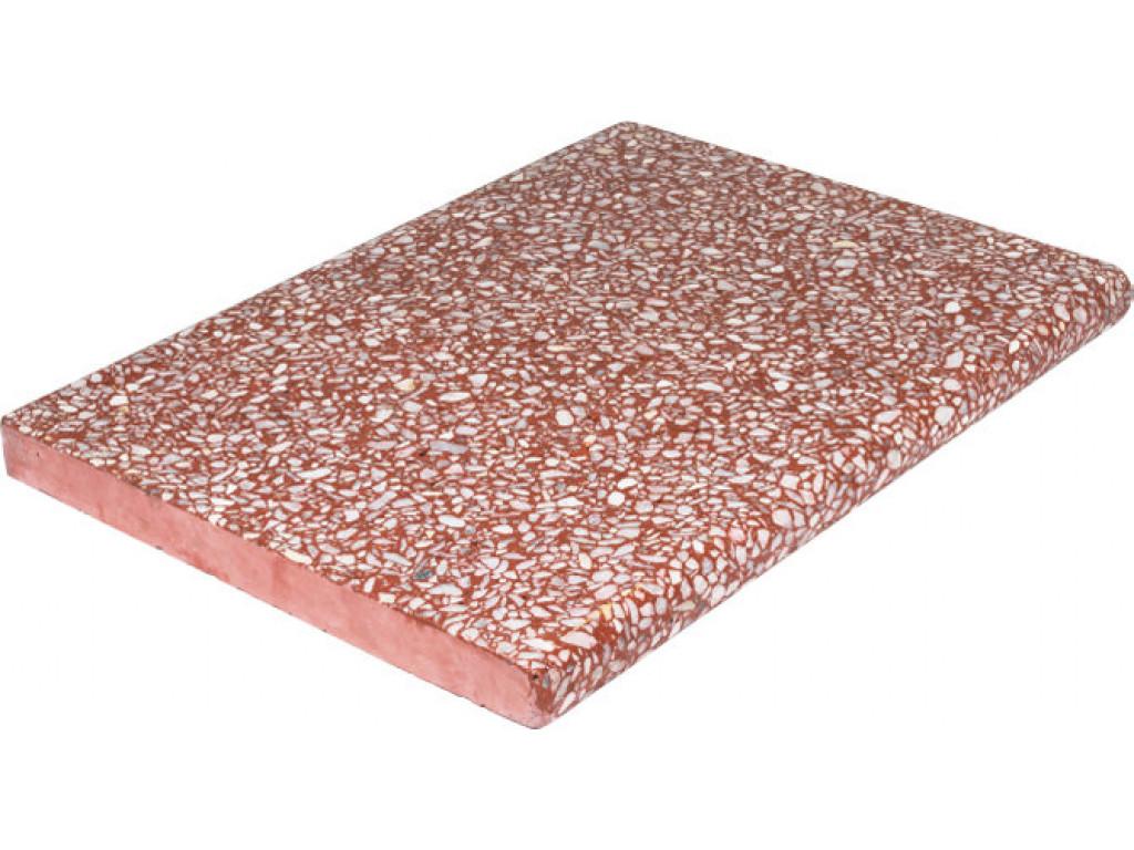 Бордюрный камень «Тераццо» Бронза