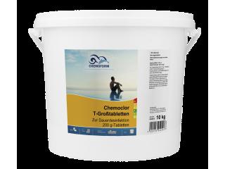Кемохлор -Т-Таблетки для бассейна - 200г 10кг