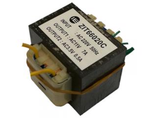 Трансформатор AC 220 - AC 12V, без корпуса, 75W