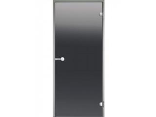 Дверь Harvia с алюминиевой коробкой 9х21 (стекло серое, артикул DA92102)