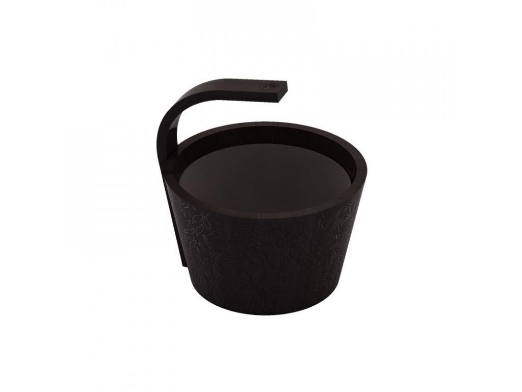 Ведро sawo 300-bl-drf dragonfire (чёрный цвет, 9 литров)
