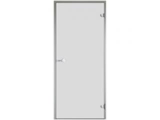 Дверь Harvia с алюминиевой коробкой 9х19 (стекло сатин, артикул DA91905)
