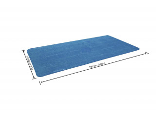 Тент солнечный 380*180см  Bestway для бассейнов 404x201x100, 412x201x122 см 58240