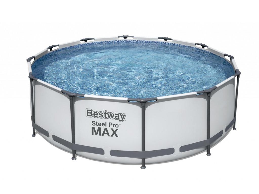 Бассейн каркасный Bestway 366*100 см. 9150л, фильтр-насос 2006л/ч, лестница,  56418,