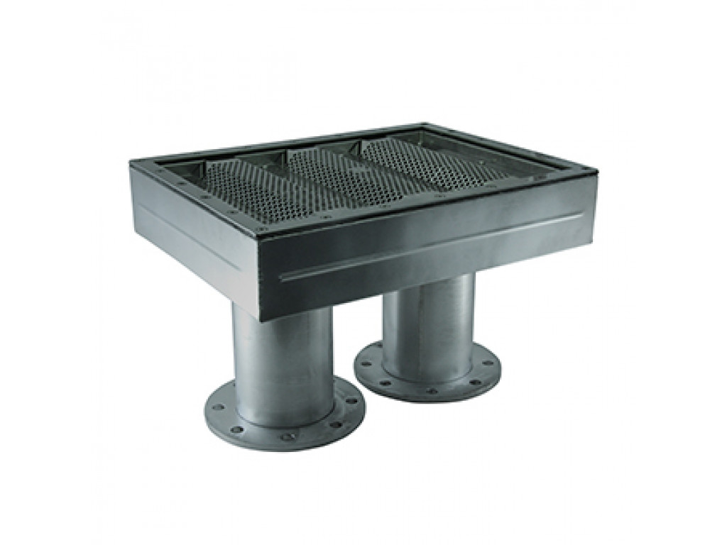 Водозабор 200 м3/ч, пленка (AISI 316L)