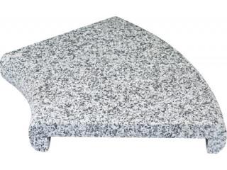Натуральный бордюрный камень «П» профиль