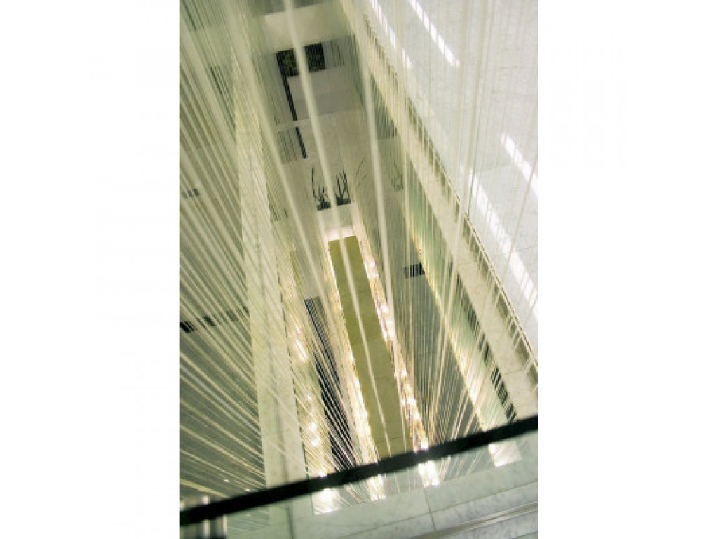 Water curtain, mylar lace roll 100 m