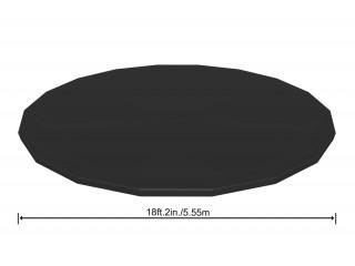 Тент (ПВХ) на каркасный бассейн Bestway 555 см для бассейнов д.549 см 58039